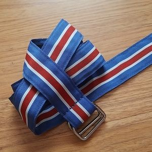 Brooks Brothers fabric belt L